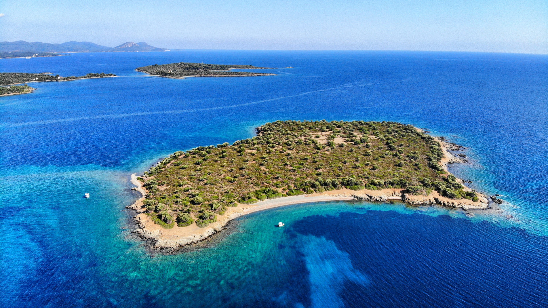 Spalathronisi Island, Greece