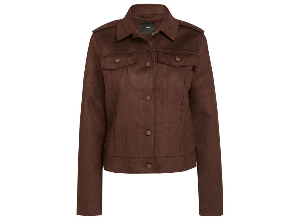 Next Suedette Western Jacket, £48/AED217.79