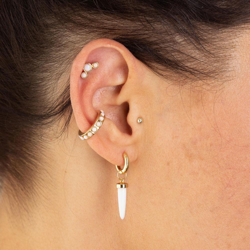Scream Pretty Opal Luxe Set of 3 Single Earrings