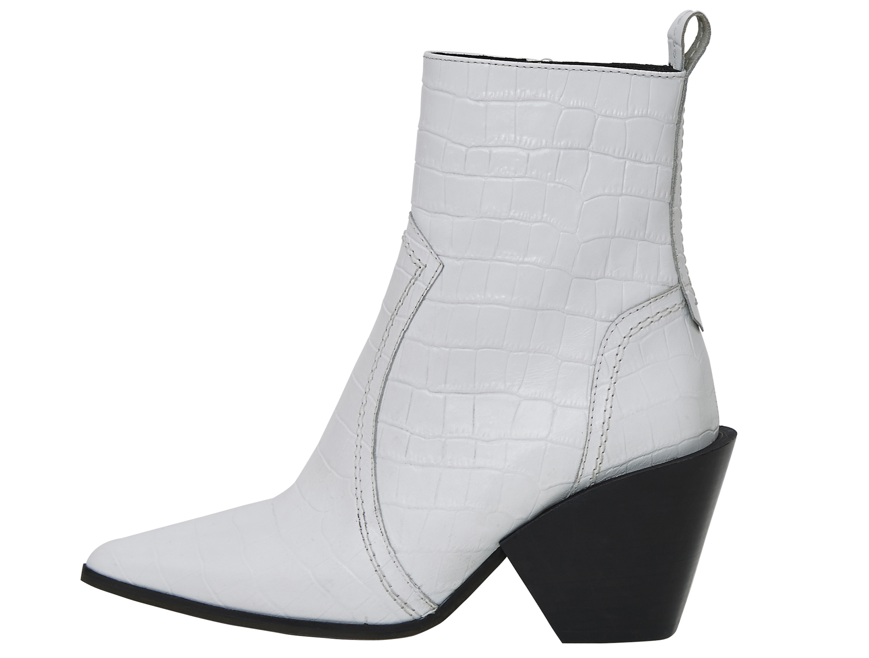 Office Avail Western Boots White Croc Leather, £99/AED446.87