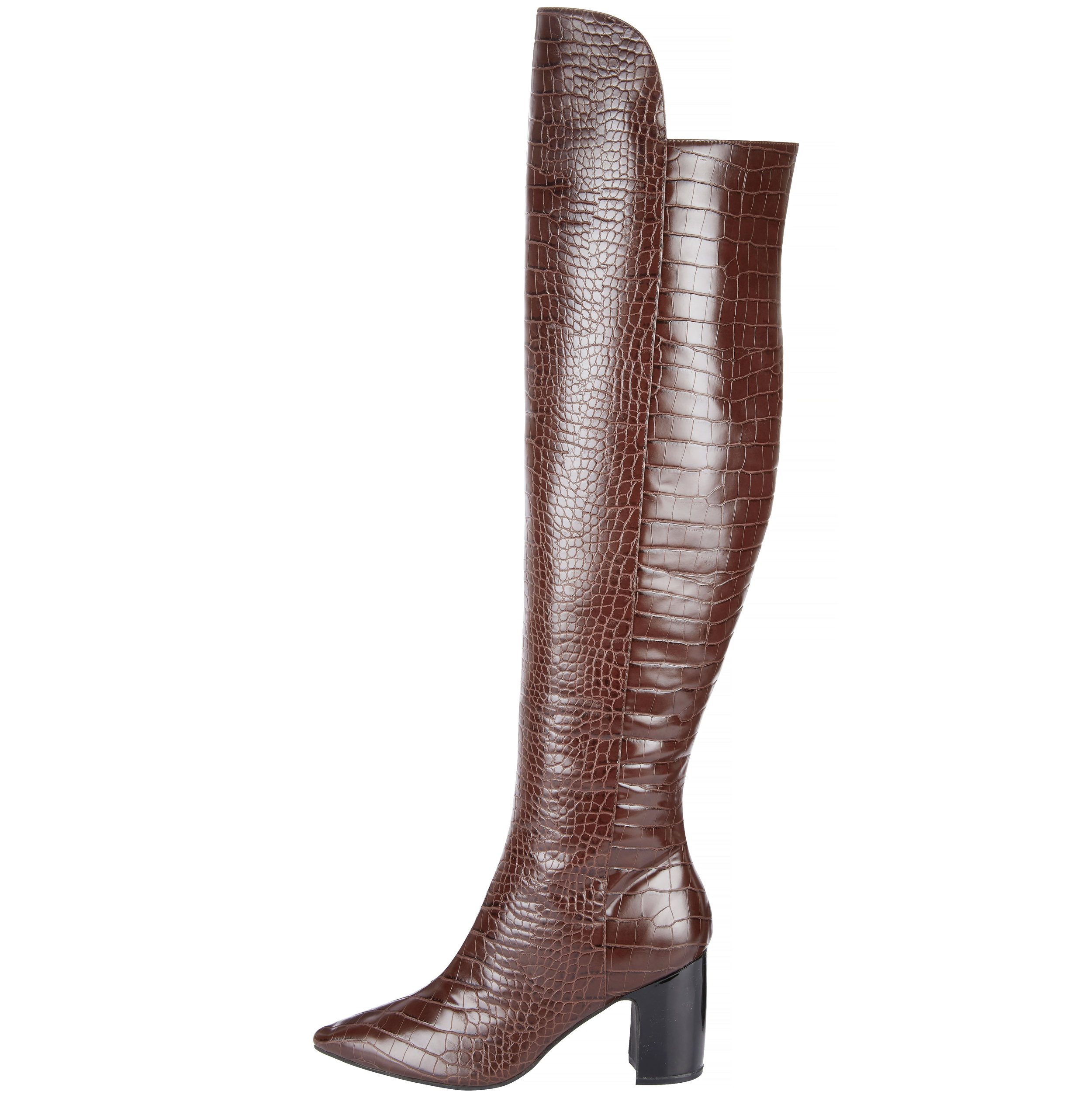 Very Croc Knee Boots, £50/AED225.69