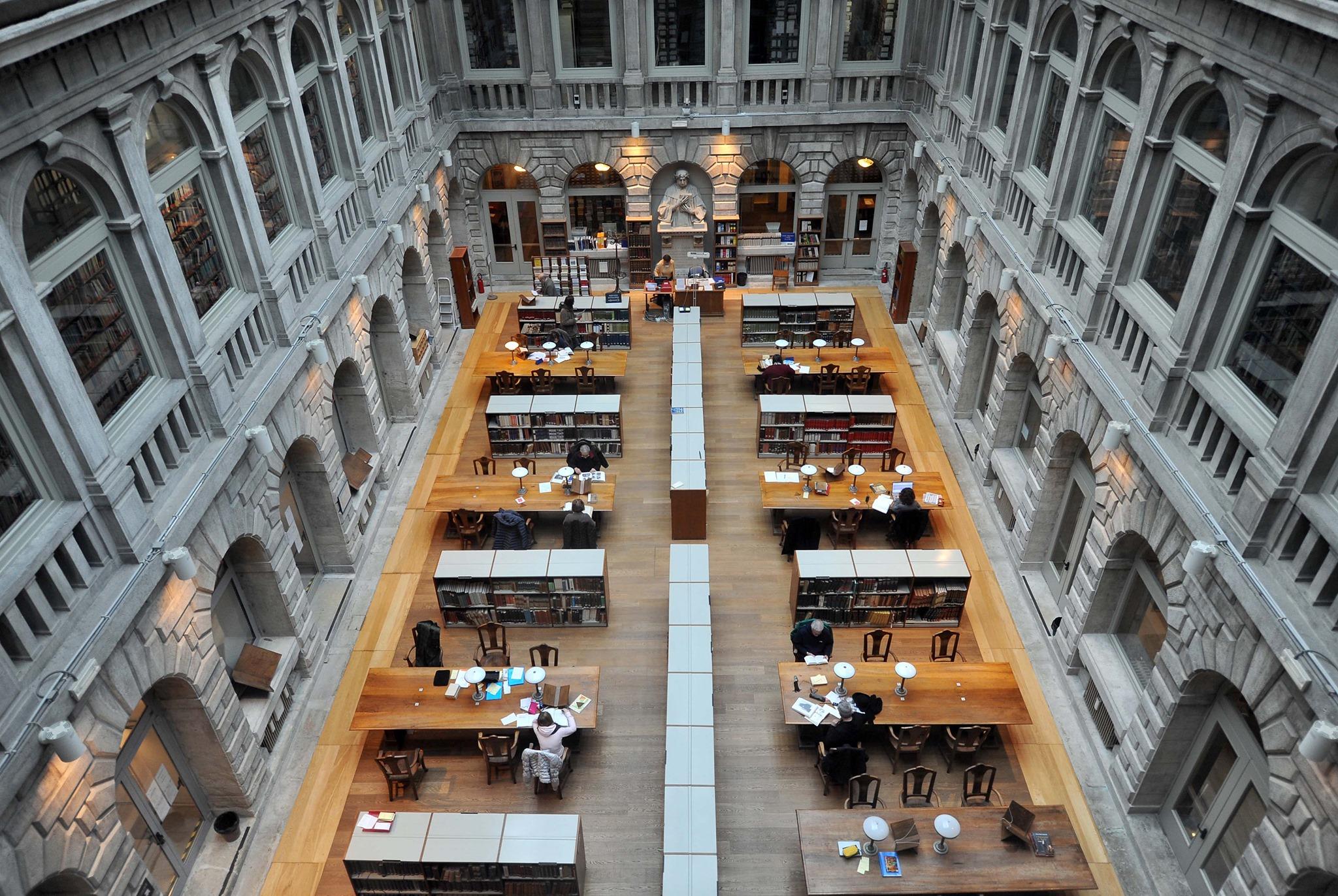 Biblioteca Marciana, Venice, Italy