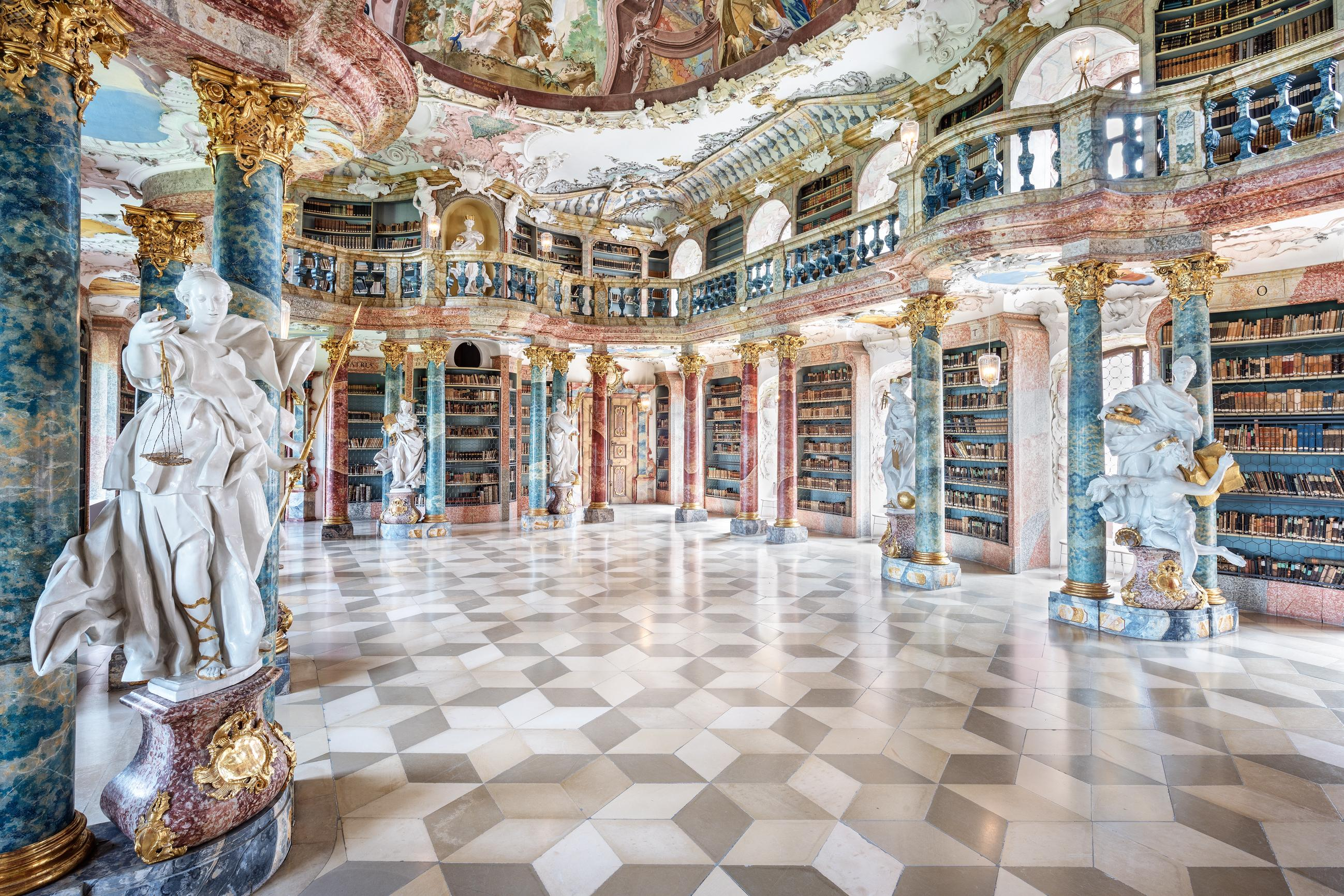Wiblingen Abbey, Ulm, Germany