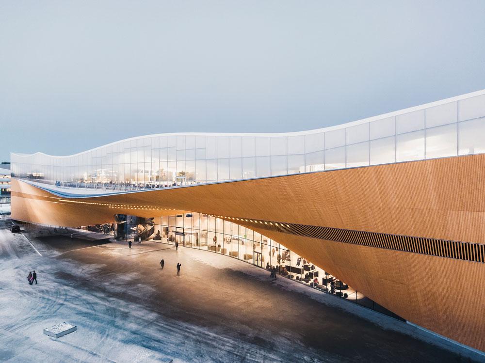 Oodi Central Library, Helsinki, Finland