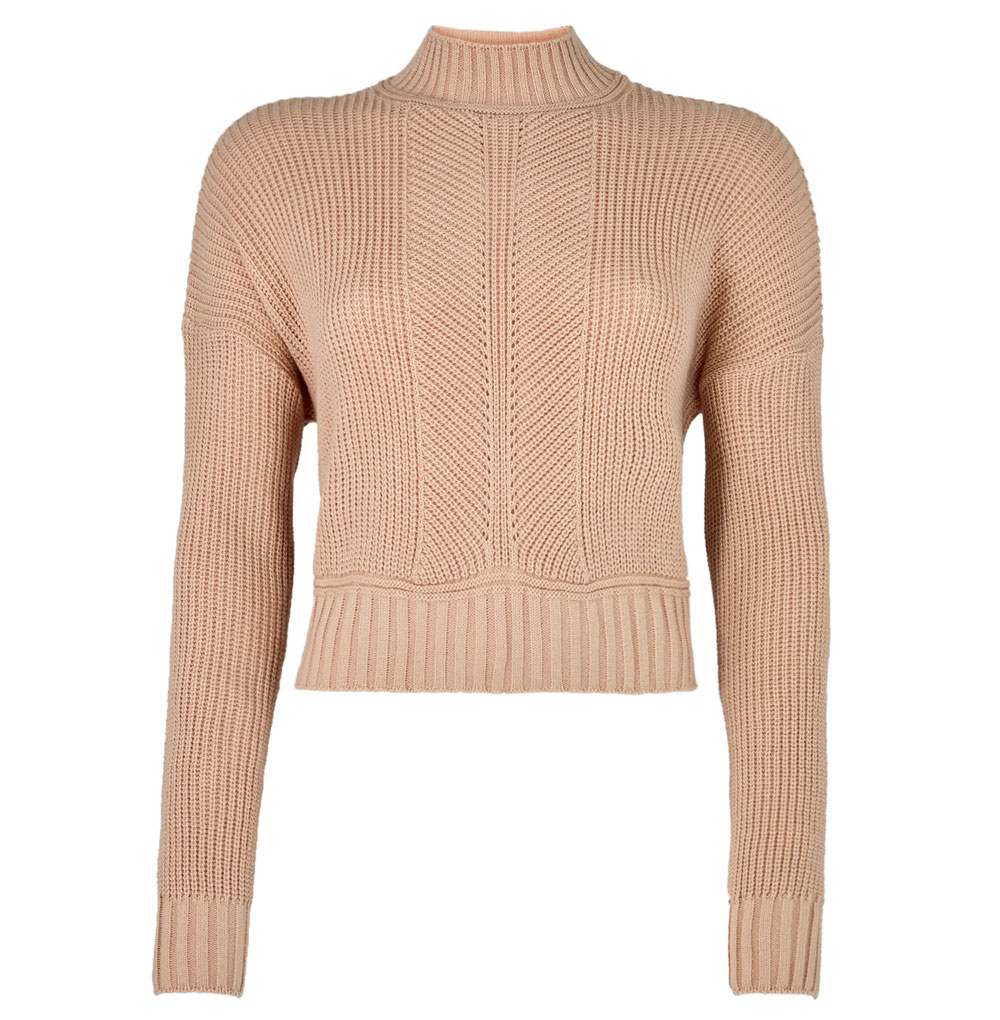 Dorothy Perkins Lola Skye Blush Crop Jumper