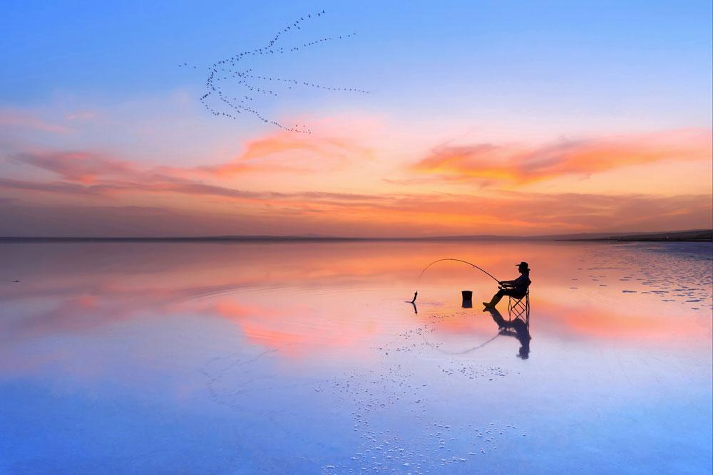 'Fishing in Simerenya' by @fdilekuyar – Ankara, Turkey