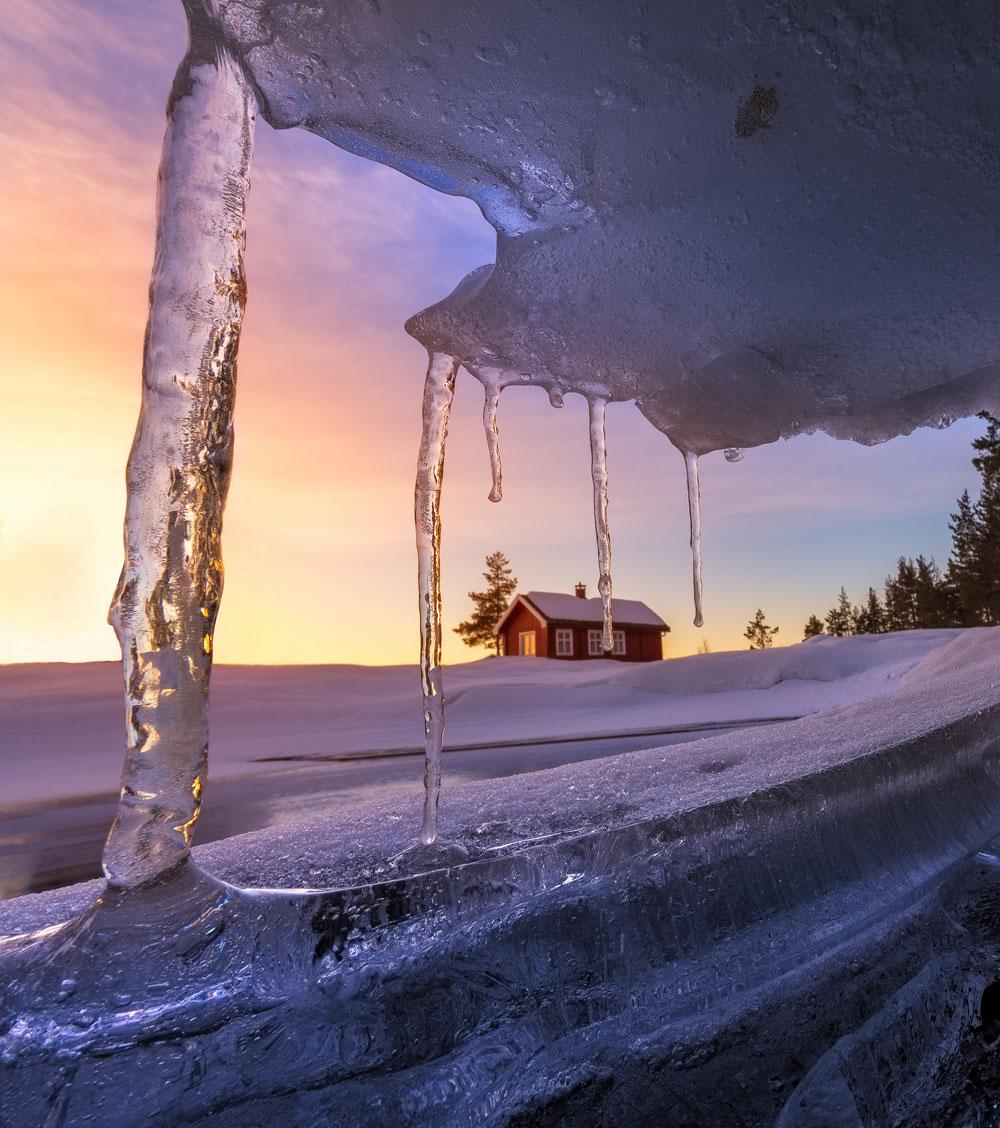 'Red cabin' by @øystein – Eastern Norway