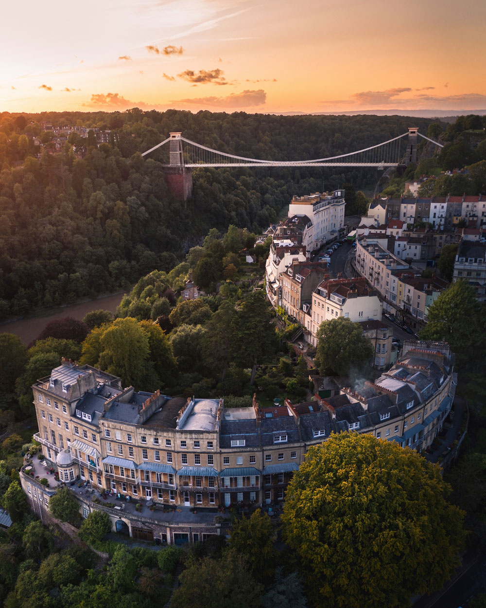 'Sunset over Bristol' by @tom.bridges – Bristol, UK