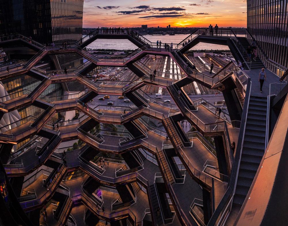 'The vessel sunset' by @rafaelgranados – New York