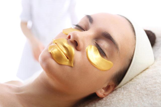 Gold skincare