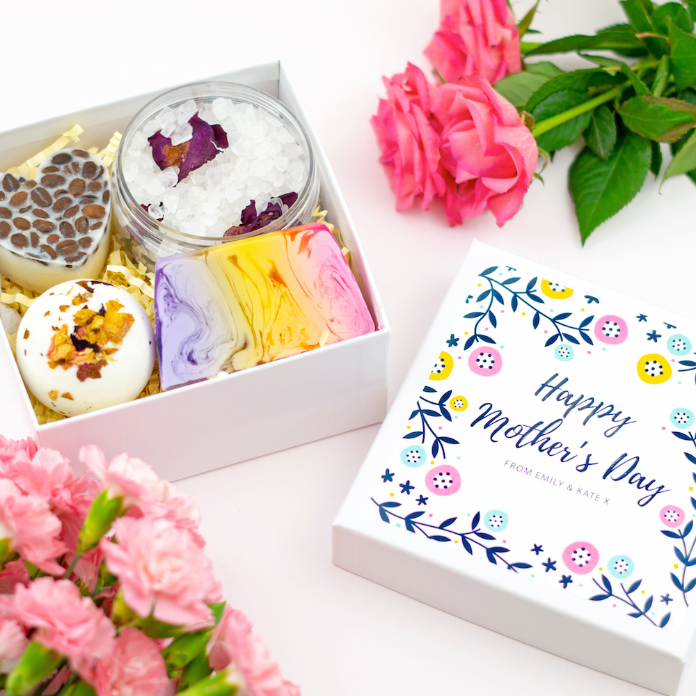 SoulAndSoap Personalised Mother's Day Pamper Set