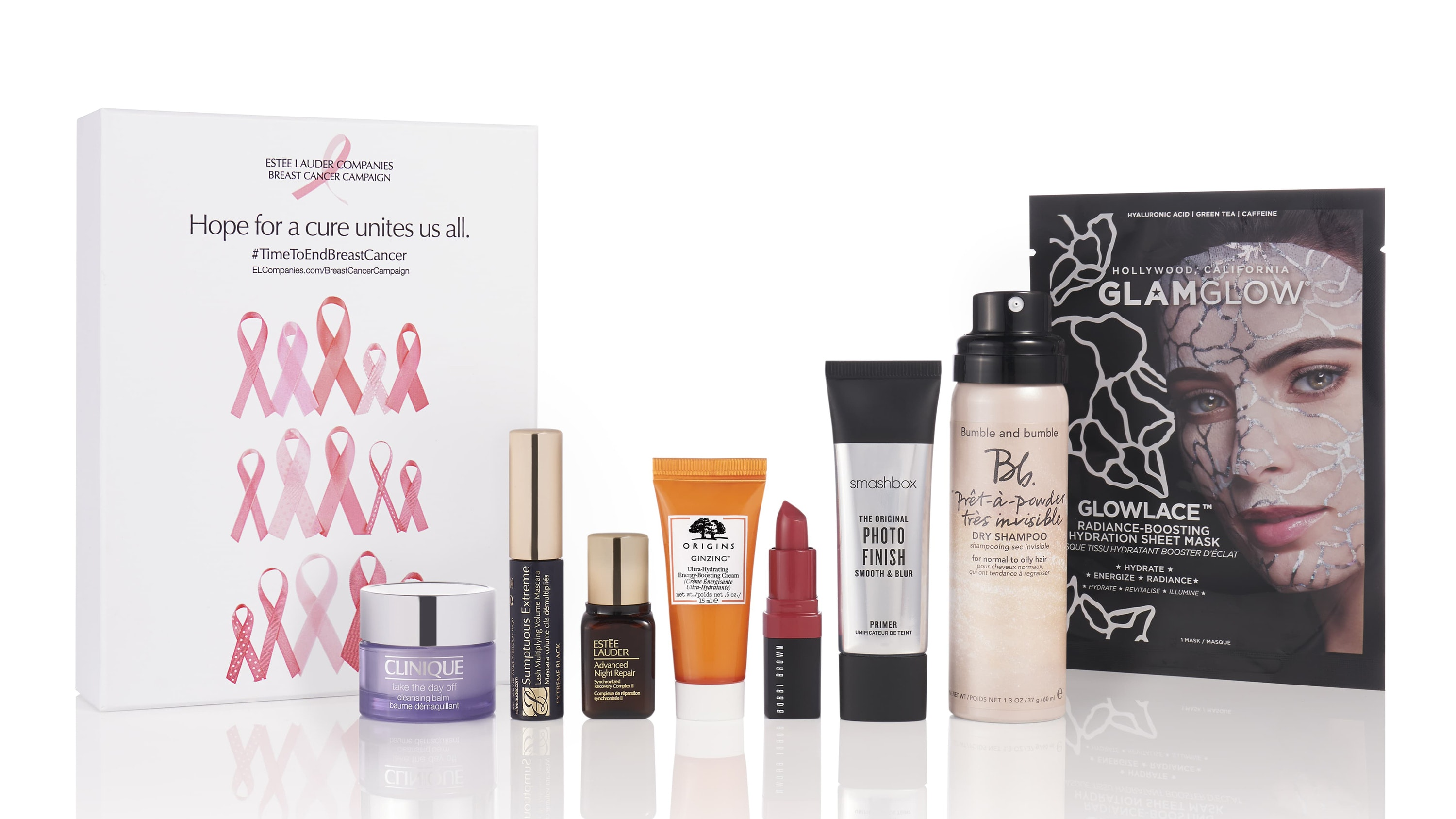 Estee Lauder Breast Cancer Campaign Beauty Box
