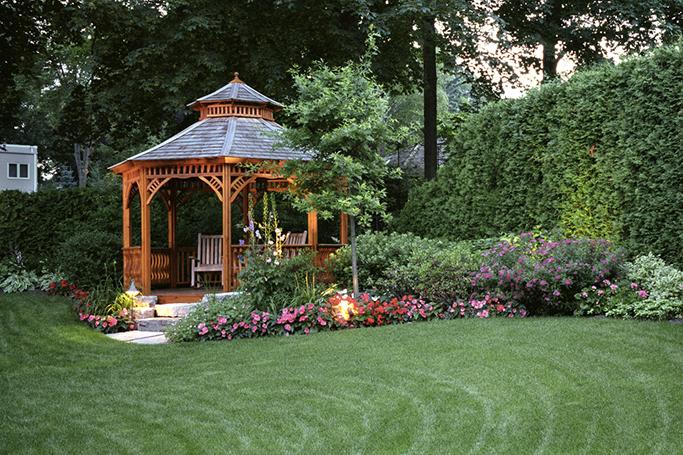 pretty garden gazebo