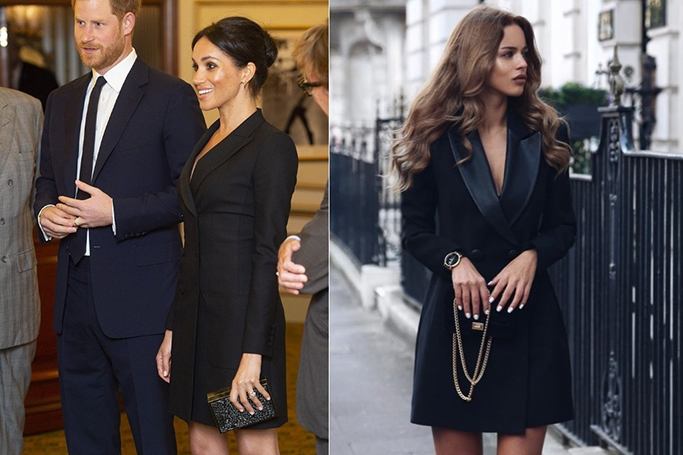 Get The Look in Dubai: Meghan Markle's Tuxedo Mindress