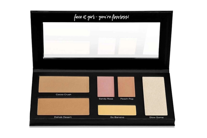 Wow By Wojooh's Let's Face It All-in-One Face Palette
