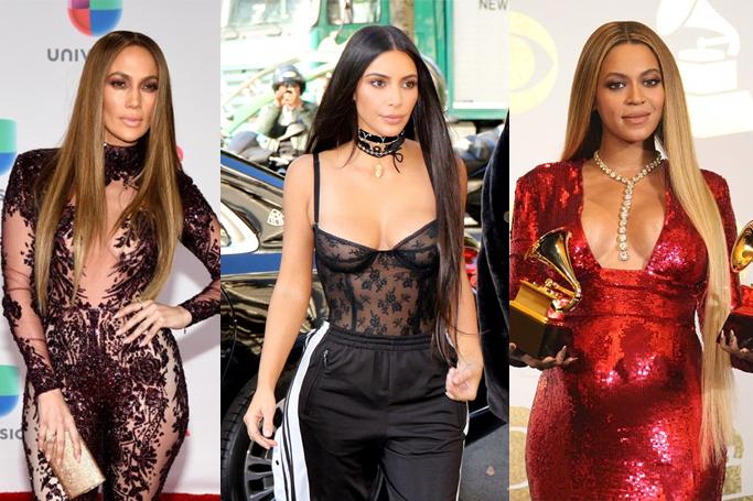 Super long hair trend celebrities