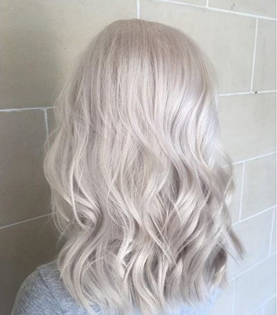 Icy Blonde Hair
