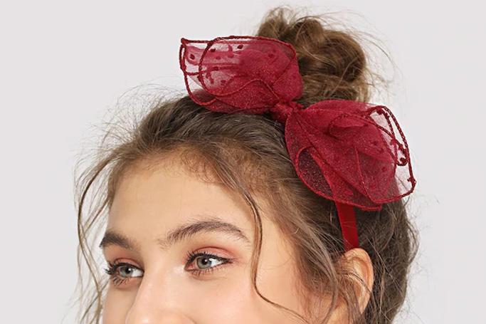Knot decorated headband on SHEIN