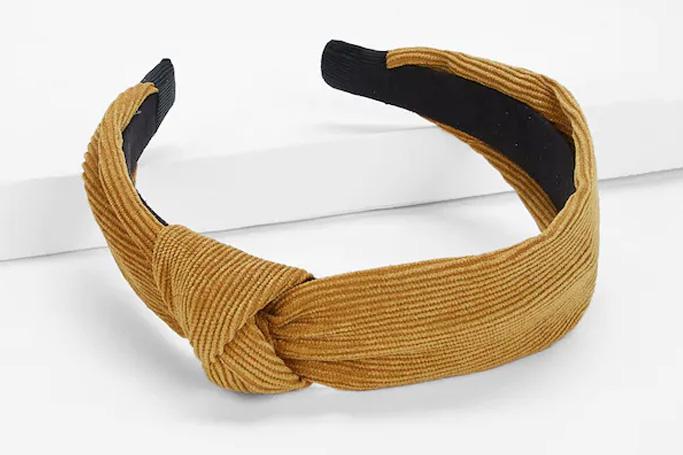 Plain knot headband from SHEIN