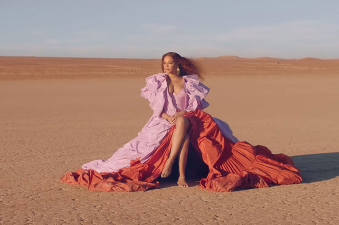 "Beyonce's Incredible Outfits in Her New ""Spirit"" Music Video"