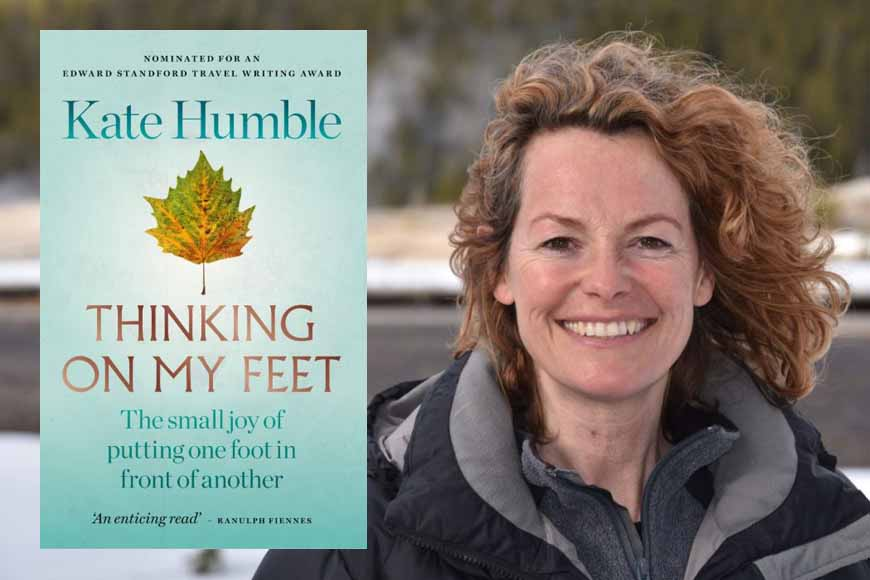 Kate Humble: Thinking on My Feet at Emirates Airline Festival of Literature