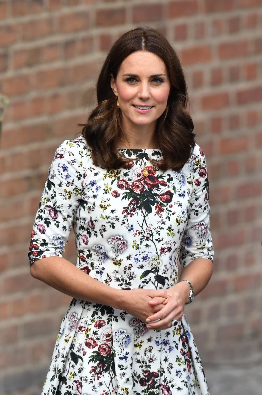 Duchess of Cambridge in florals for summer