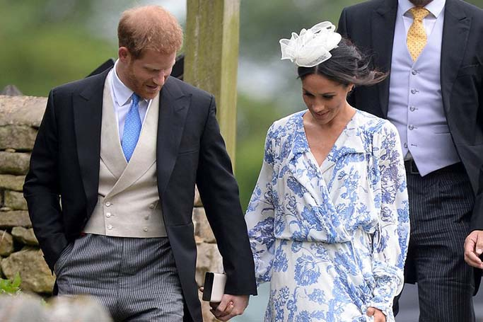 Meghan Markle Wore A High Street Fascinator