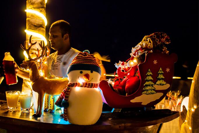 Festive season at Mövenpick Resort Kuredhivaru Maldives