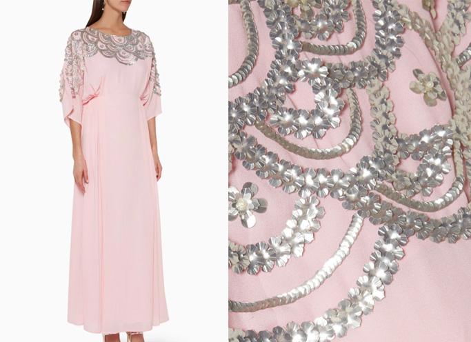Shaira Sequin-Embellished Kaftan