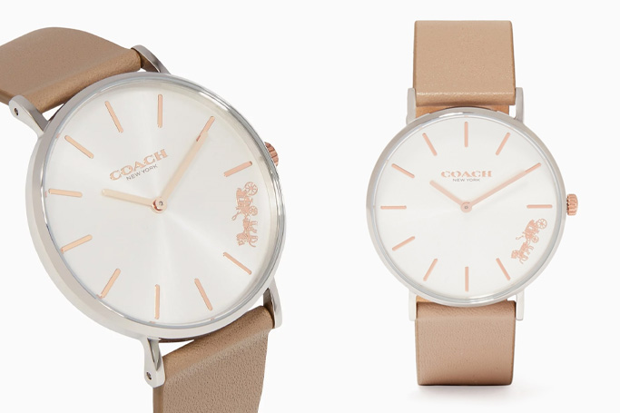 Coach Stone-Grey Perry Watch