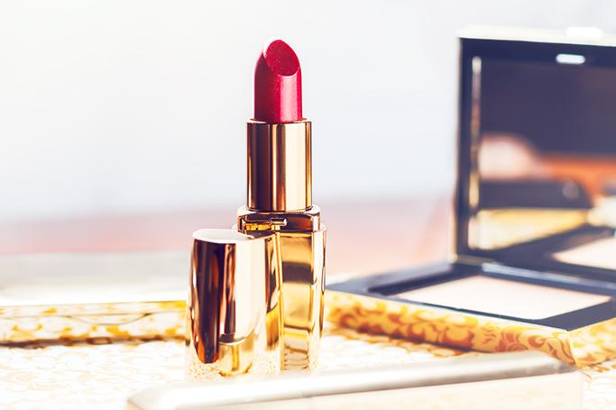 perfect red lipstick