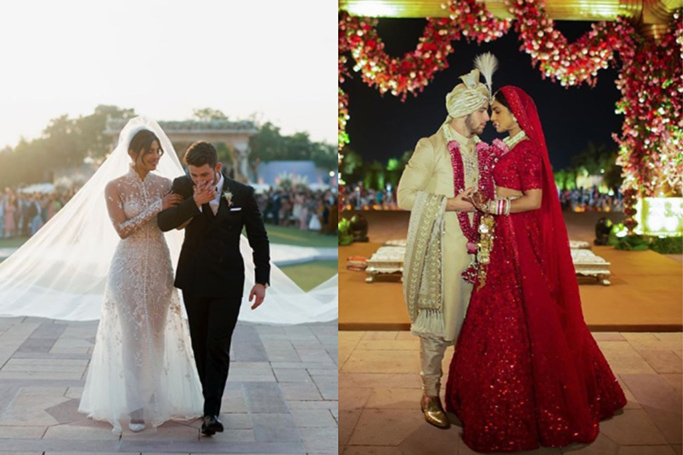 Priyanka Chopra's Bridal Looks