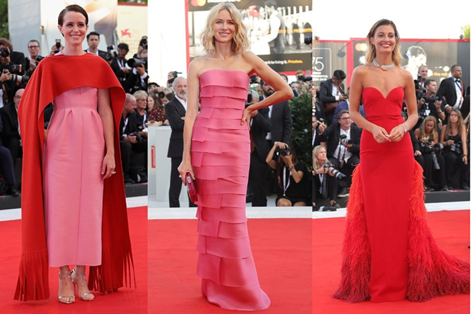 d42a3843856 Venice Film Festival 2018: The Rein Of The Red Gown | ewmoda