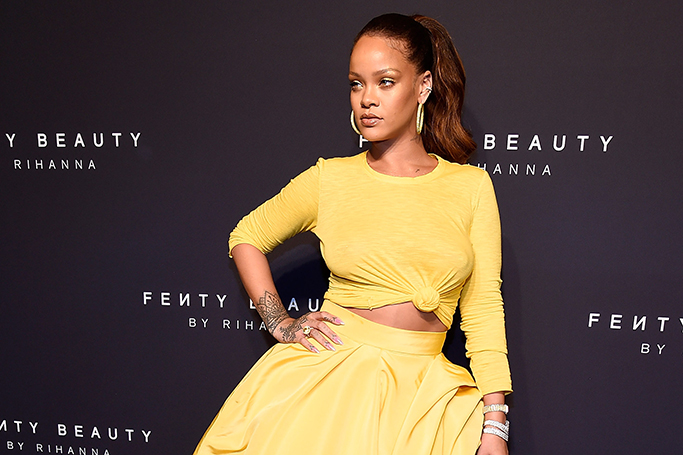 Rihanna SLAYED At The Global Launch Of Fenty Beauty In New York