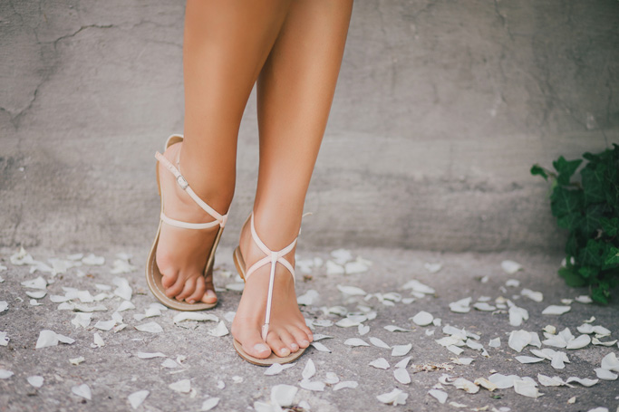 Strappy sandals for summer 2019