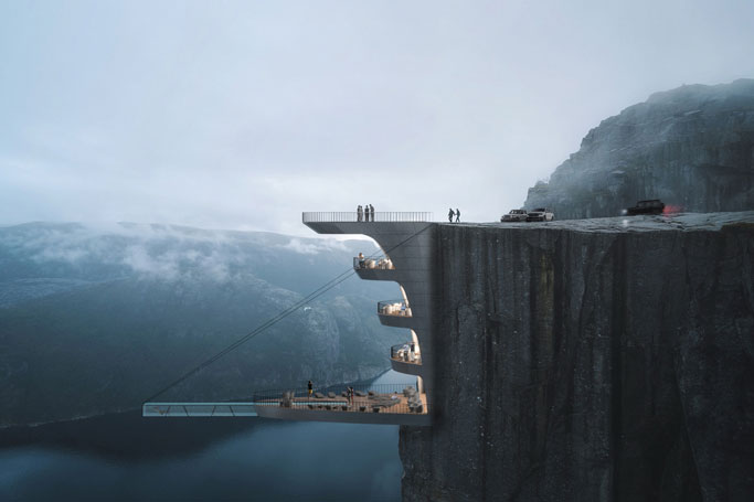 The Scariest Swimming Pool You've Ever Seen