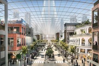 New Dubai Mega-Mall: Dubai Square