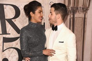 Priyanka Chopra And Nick Jonas At Ralph Lauren's NYFW Show