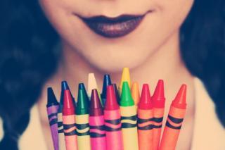 DIY Crayon Lipsticks