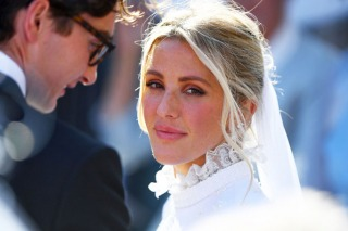 Where to Buy Ellie Goulding's Victorian-Style Wedding Gown?