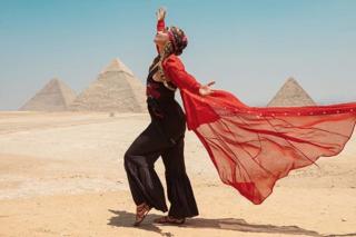 Alicia Keys Egypt Trip