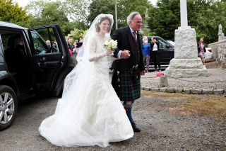 Famous Brides in Elie Saab Wedding Dresses