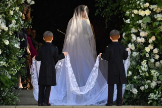 Meghan Markle's Givenchy Bridal Gown