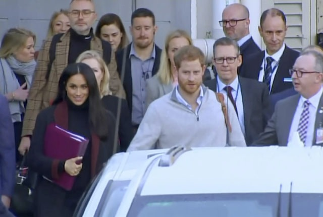 Meghan Markle and Prince Harry, Royal Tour