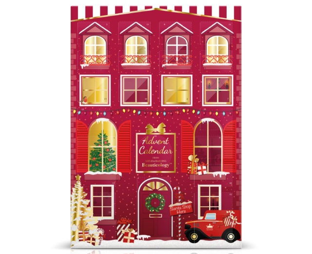 Baylis & Harding Beauticology Special Delivery Red Advent Calendar