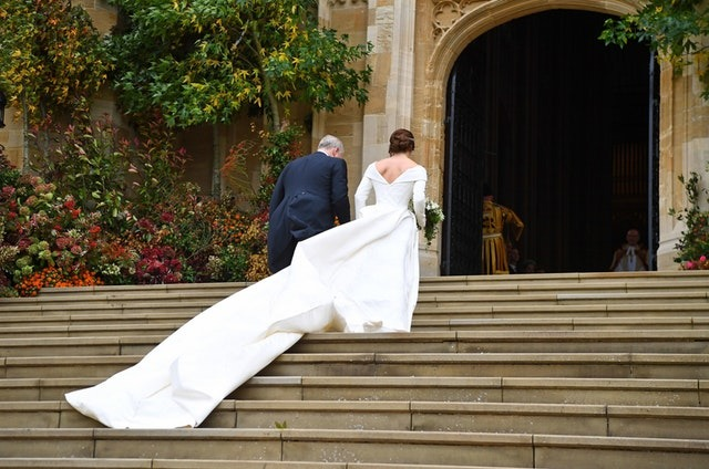 Princess Eugenie's Wedding Dress 1