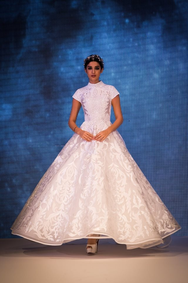 Bridal fashion at BRIDE Dubai