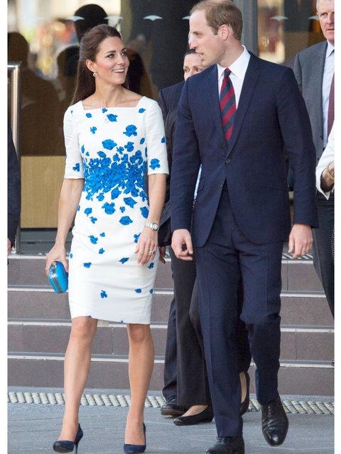 Kate Middleton's fashion through the years