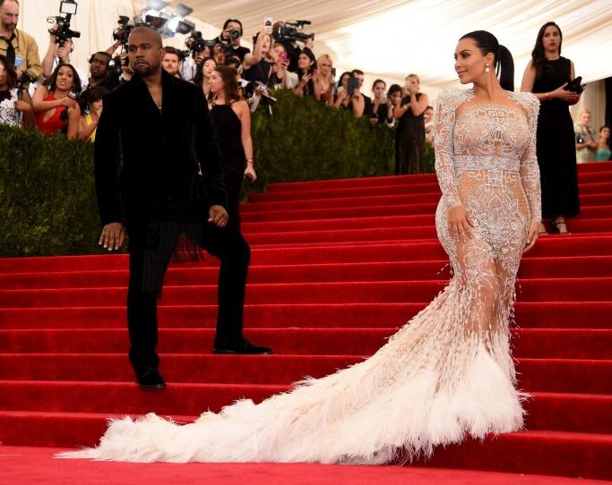 2015 Kim Kardashian West in Emilio Pucci
