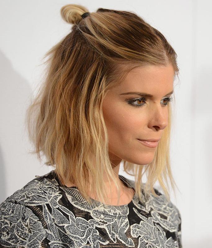 10 Celebrities Who Have Nailed The Half Bun Hair Trend Ewmoda